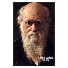 Charles Darwin: Evolution Poster