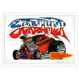 Hot rod Wrapped Canvas Art