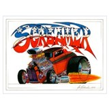 Hot rod Framed Prints