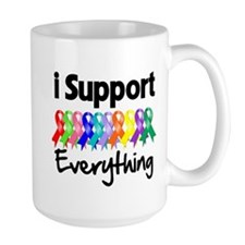 I Support All Causes Mug