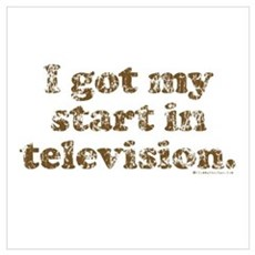 I Got My Start in Television Poster
