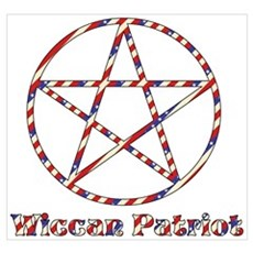Wiccan Patriot Poster