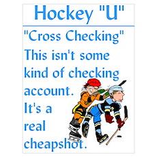 """Cross Checking"" Poster"