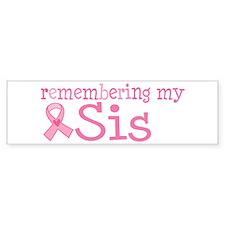 Breast Cancer Sis Car Sticker