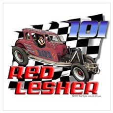"""Old Dirt!"" 101 Red Lesher! Poster"