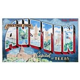 Austin Wrapped Canvas Art