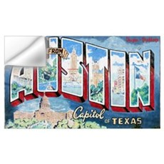 Greetings from Austin Wall Decal