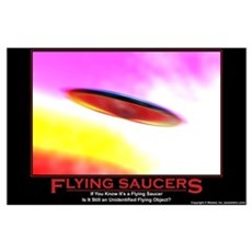 Flying Saucers Poster