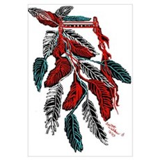 Indian Headdress/ Framed Print