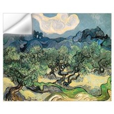 Olive Trees with the Alpilles Wall Decal