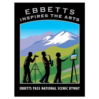 EB Inspires the Arts Poster