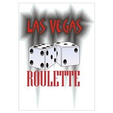 Roulette & Dice Gear Poster