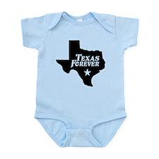 Texas Forever (Black - Cutout Ltrs) Infant Bodysui