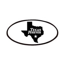 Texas Forever (Black - Cutout Ltrs) Patches