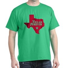 Texas Forever (Red - Cutout Ltrs) T-Shirt