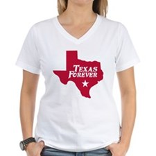 Texas Forever (Red - Cutout Ltrs) Shirt