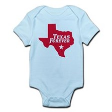 Texas Forever (Red - Cutout Ltrs) Infant Bodysuit