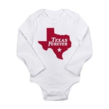 Texas Forever (Red - Cutout Ltrs) Long Sleeve Infa
