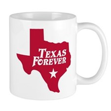 Texas Forever (Red - Cutout Ltrs) Mug