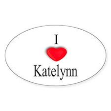Katelynn Oval Decal