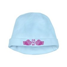 Punch Cancer baby hat