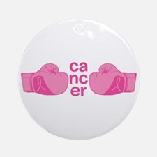Punch Cancer Ornament (Round)