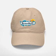 Broadkill Beach DE - Surf Design Baseball Baseball Cap