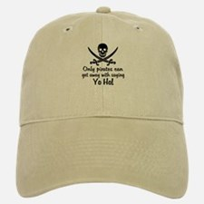 Pirate - Yo Ho Baseball Baseball Cap