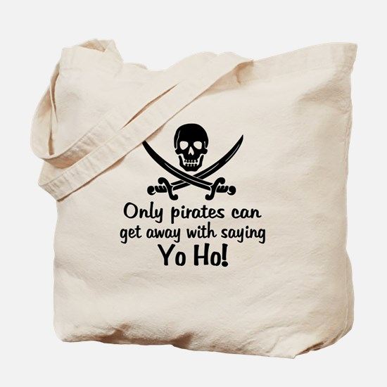 Pirate - Yo Ho Tote Bag