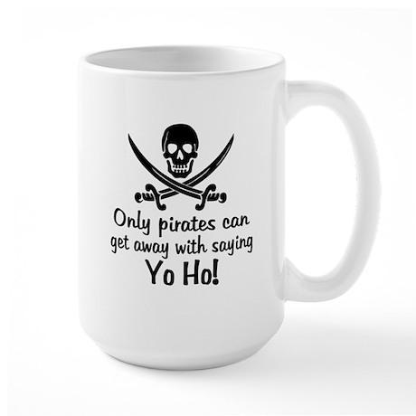 Pirate - Yo Ho Large Mug