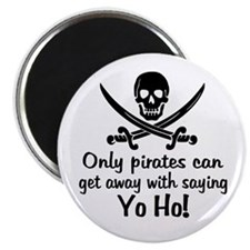 "Pirate - Yo Ho 2.25"" Magnet (100 pack)"
