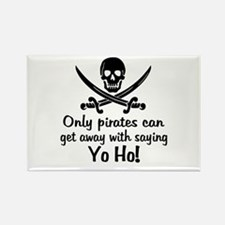 Pirate - Yo Ho Rectangle Magnet