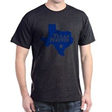 Texas Forever (Blue - Cutout Ltrs) T-Shirt