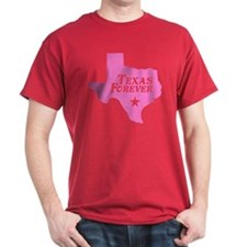 Texas Forever (Pink - Cutout Ltrs) T-Shirt
