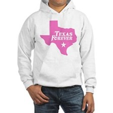 Texas Forever (Pink - Cutout Ltrs) Hoodie