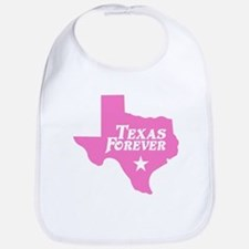 Texas Forever (Pink - Cutout Ltrs) Bib