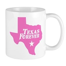 Texas Forever (Pink - Cutout Ltrs) Mug