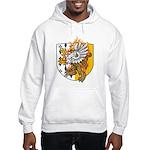 Flaming Gryphon Hooded Sweatshirt