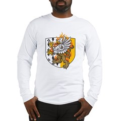 Flaming Gryphon Long Sleeve T-Shirt