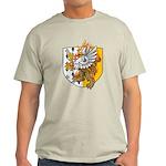 Flaming Gryphon Ash Grey T-Shirt