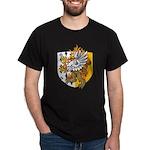 Flaming Gryphon Black T-Shirt