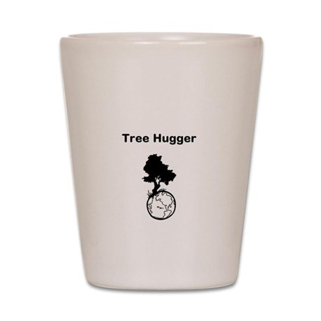 Tree Hugger Shot Glass