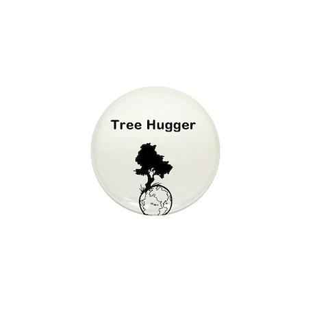 Tree Hugger Mini Button