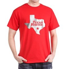 Texas Forever (White - Cutout Ltrs) T-Shirt