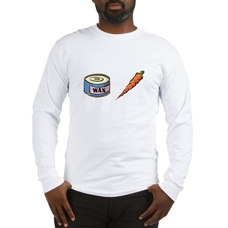 Wax the Carrot Long Sleeve T-Shirt