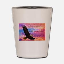 Wings of Prayer Shot Glass