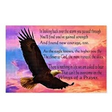 Wings of Prayer (Eagle) Postcards (Package of 8)