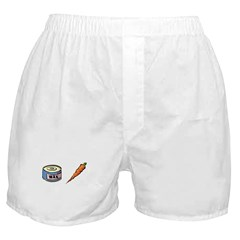 Wax the Carrot Boxer Shorts