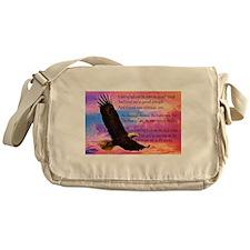 Wings of Prayer (Eagle) Messenger Bag