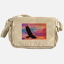 Wings of Prayer Messenger Bag
